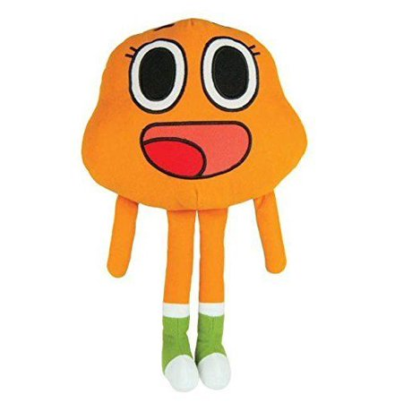 AMAZING WORLD OF GUMBALL STUFF TOY - 14 INCH DARWIN - Gumball Watterson Halloween