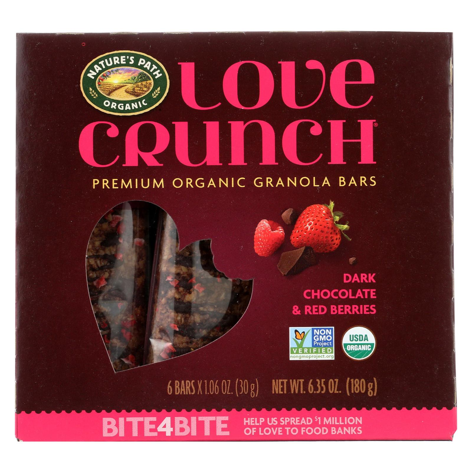 Natures Path Natures Path Organic Love Crunch Granola Bars, 6 ea