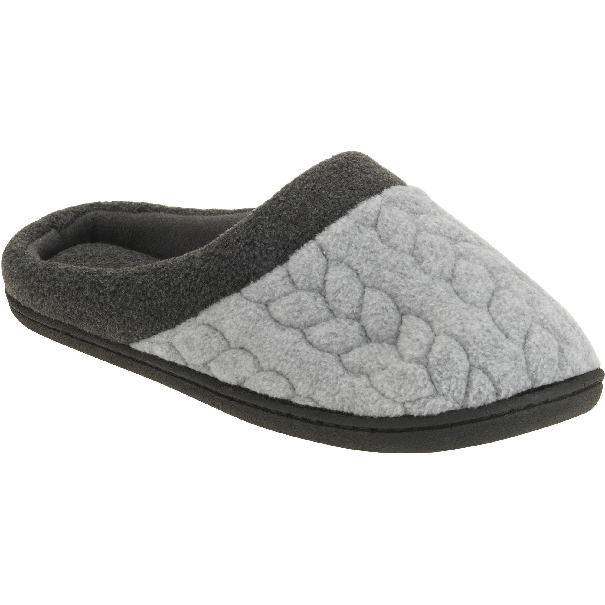 DF by Dearfoam's Women's Quilted Fleece Clog Slipper