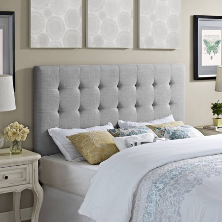 Better homes and gardens full queen headboard dove grey for Better homes bedroom ideas