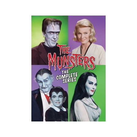 The Munsters: The Complete Series (DVD) (Complete Tv Series)