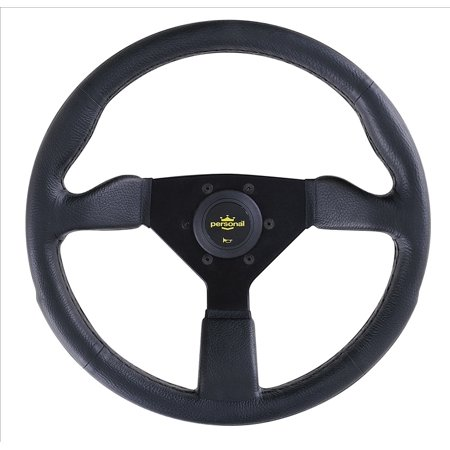 Personal Steering Wheel - Grinta - 350 mm - Black Polyurethane - 8430.35.2001 ()
