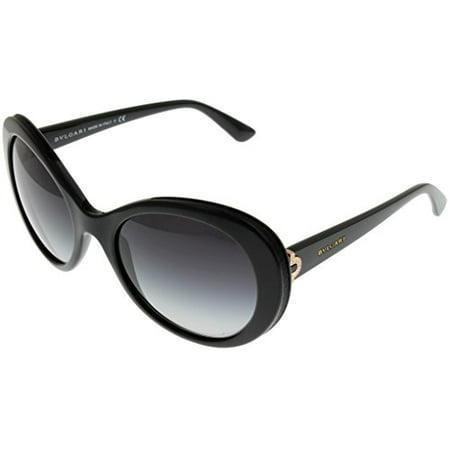 Bvlgari Sunglasses Round Women Black BV8159BQ 901/8G Size: Lens/ Bridge/ Temple: 55_20_135
