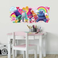 RoomMates Trolls Movie Peel and Stick Giant Wall Decals