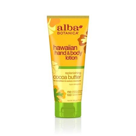 Alba Butter (Alba Botanica Hawaiian Hand & Body Lotion Replenishing Cocoa Butter, 7 Oz )