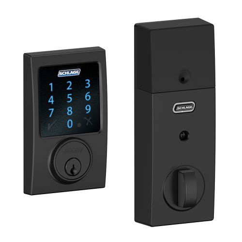 Schlage BE469NX-CEN Connect Century Touchscreen Deadbolt with Built-in Alarm and Z-Wave Technology