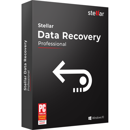 Stellar Data Recovery Software | For Windows | Professional | Recovers Deleted Data, Photos, Videos, Emails | 1 Device, 1 Yr Subscription |