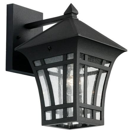 Sea Gull Lighting Bronze Ceiling Sconce - Sea Gull Lighting 88132 Herrington 1 Light Outdoor Lantern Wall Sconce