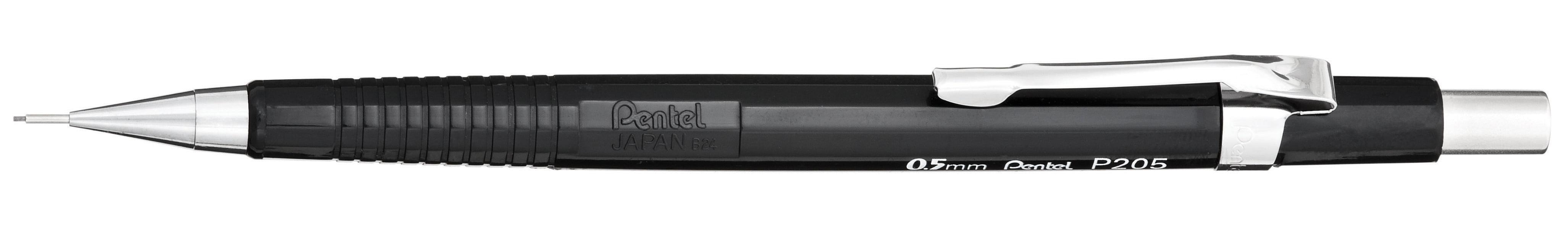 Pentel Sharp Mechanical Drafting #2 Pencil, 0.5 mm, Black Barrel