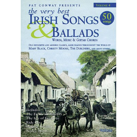 Waltons The Very Best Irish Songs & Ballads - Volume 4 Waltons Irish Music Books Series