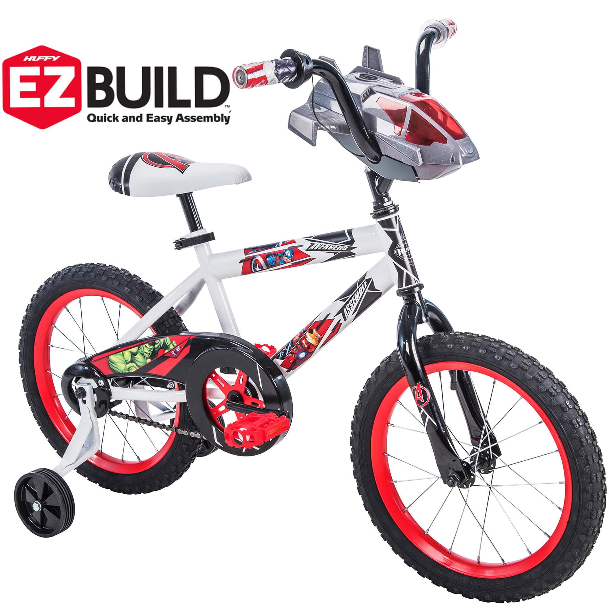 """Marvel Avengers 16"""" Boys' EZ Build Bike, by Huffy"""