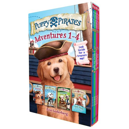 Puppy Pirates Adventures 1-4 Boxed Set](The Great Halloween Puppy Adventure)