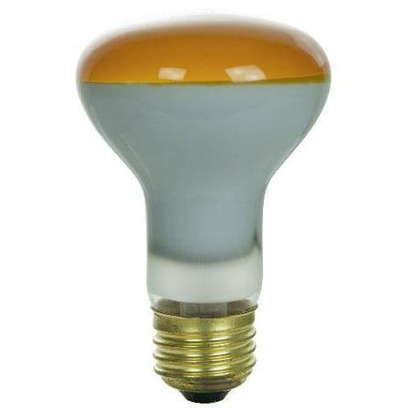 SUNLITE 50w R20 120v Orange Colored R Type Light Bulb