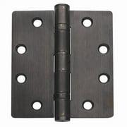 Global Door Controls 4.5'' H   4'' W Butt/Ball Bearing Door Hinges (Set of 3)