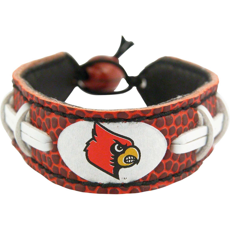 NCAA Louisville Cardinals Classic Football Bracelets
