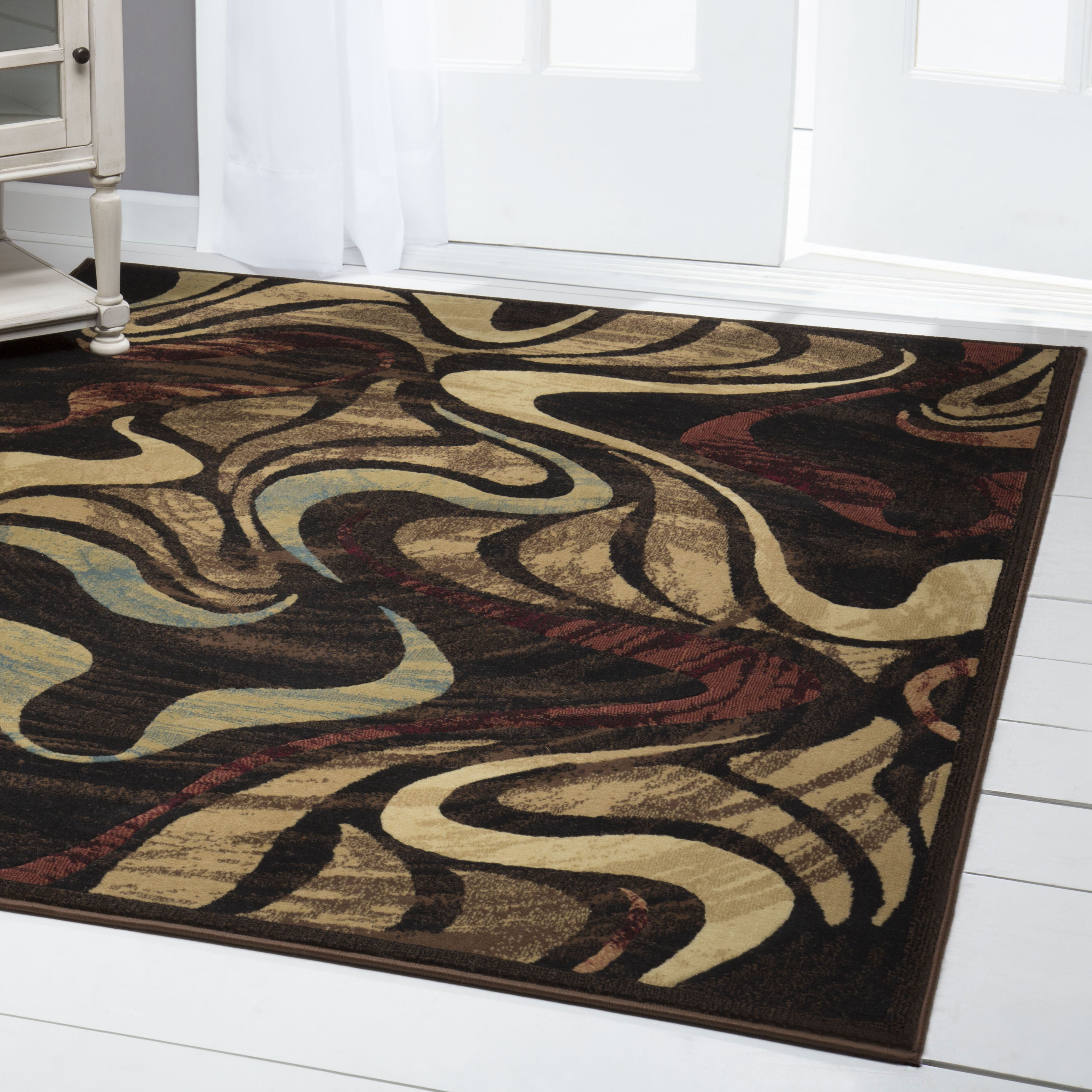 Home Dynamix Catatalina Collection Multi-Colored Contemporary Area for Modern Home Decor