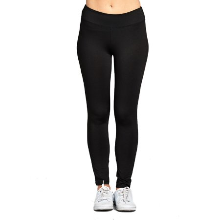Made by Olivia Women's Workout Ankle Length Pants Black