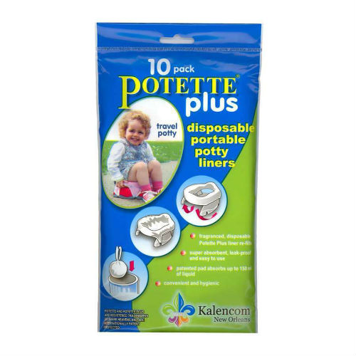 """Kalencom Potette Plus Liners - 10 Pack Toilet Training Seat Cover"""
