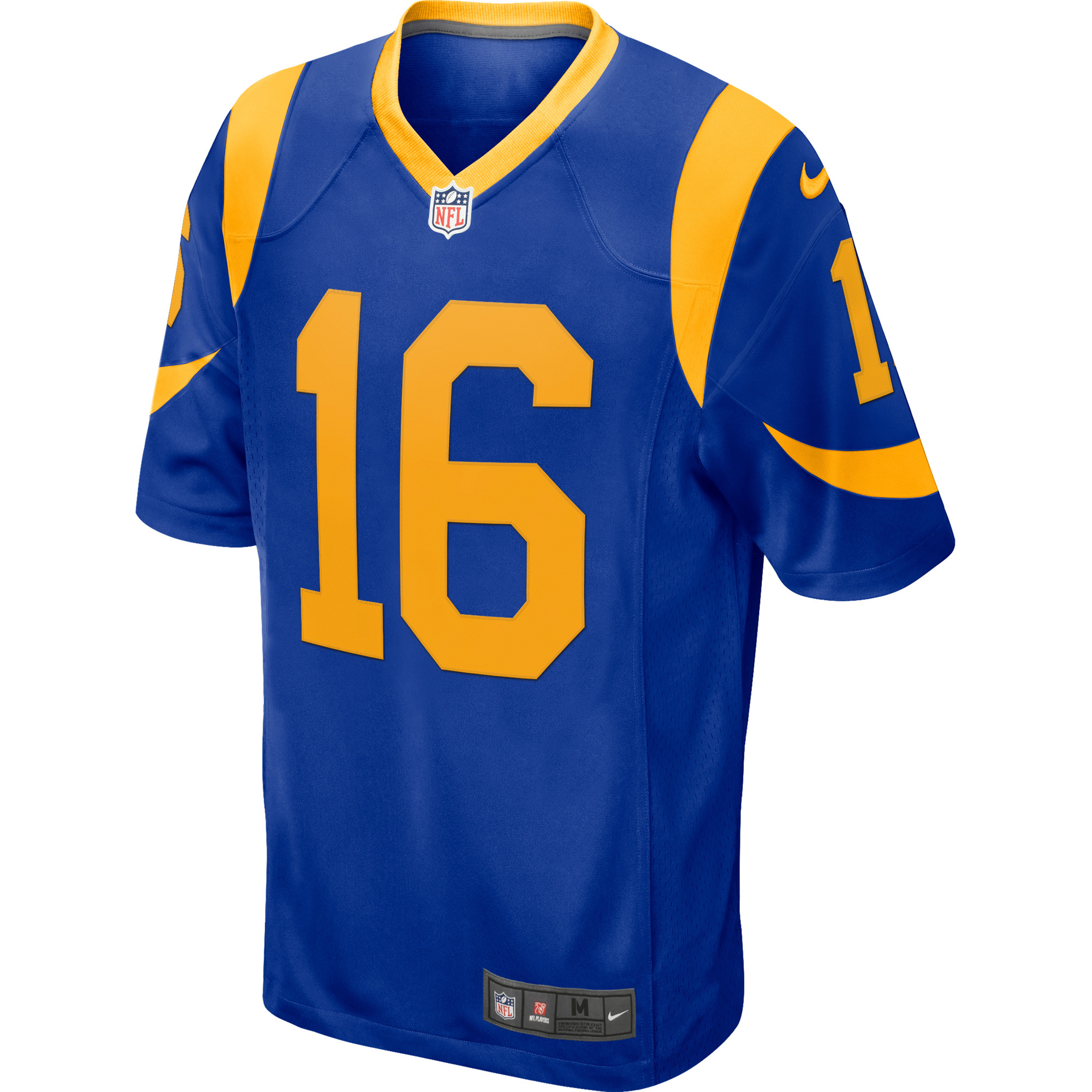 Jared Goff Los Angeles Rams Nike Game Player Jersey Royal