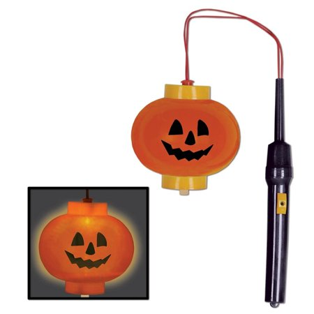 Club Pack of 12 Jack-o-Lantern Pumpkin Light Halloween Decoration 4