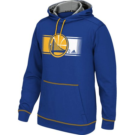 Adidas Golden State Warriors Tip Off Pullover Hoodie (Blue) by