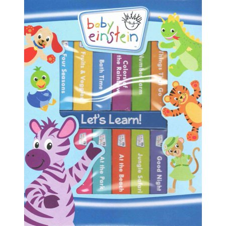 Baby Einstein My 1st Library (Board Book)