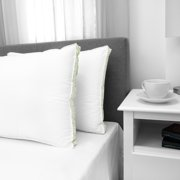 EcoPEDIC Firm Density Bed Pillow with Cotton Cover - 2 Pack