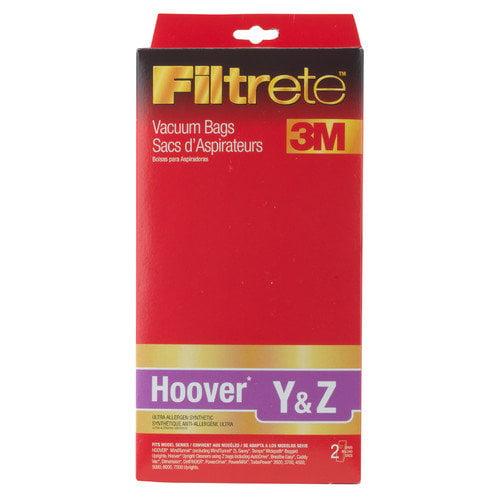 Eureka Hoover Y and Z Filtrete Vacuum Bag (Pack of 2)
