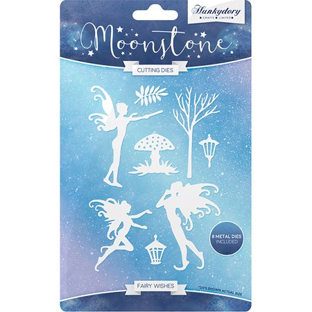 Hunkydory Moonstone Dies Fairy Wishes