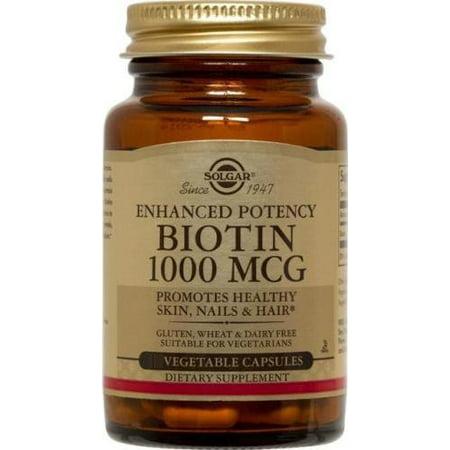 Solgar 250 Biotine 1000mcg vcaps
