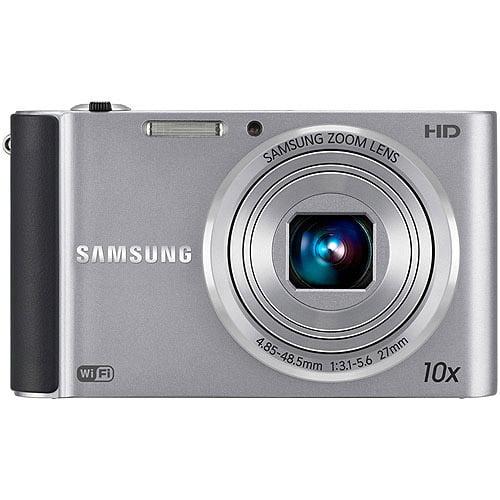 "Samsung ST200F Silver 16MP 10x Ultra-Zoom SMART Digital Camera, 3.0"" LCD Display, WiFi Connectivity"