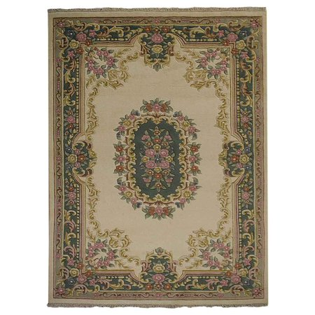 Hand Knotted Persian Style Wool Oriental Carpet Area Rug