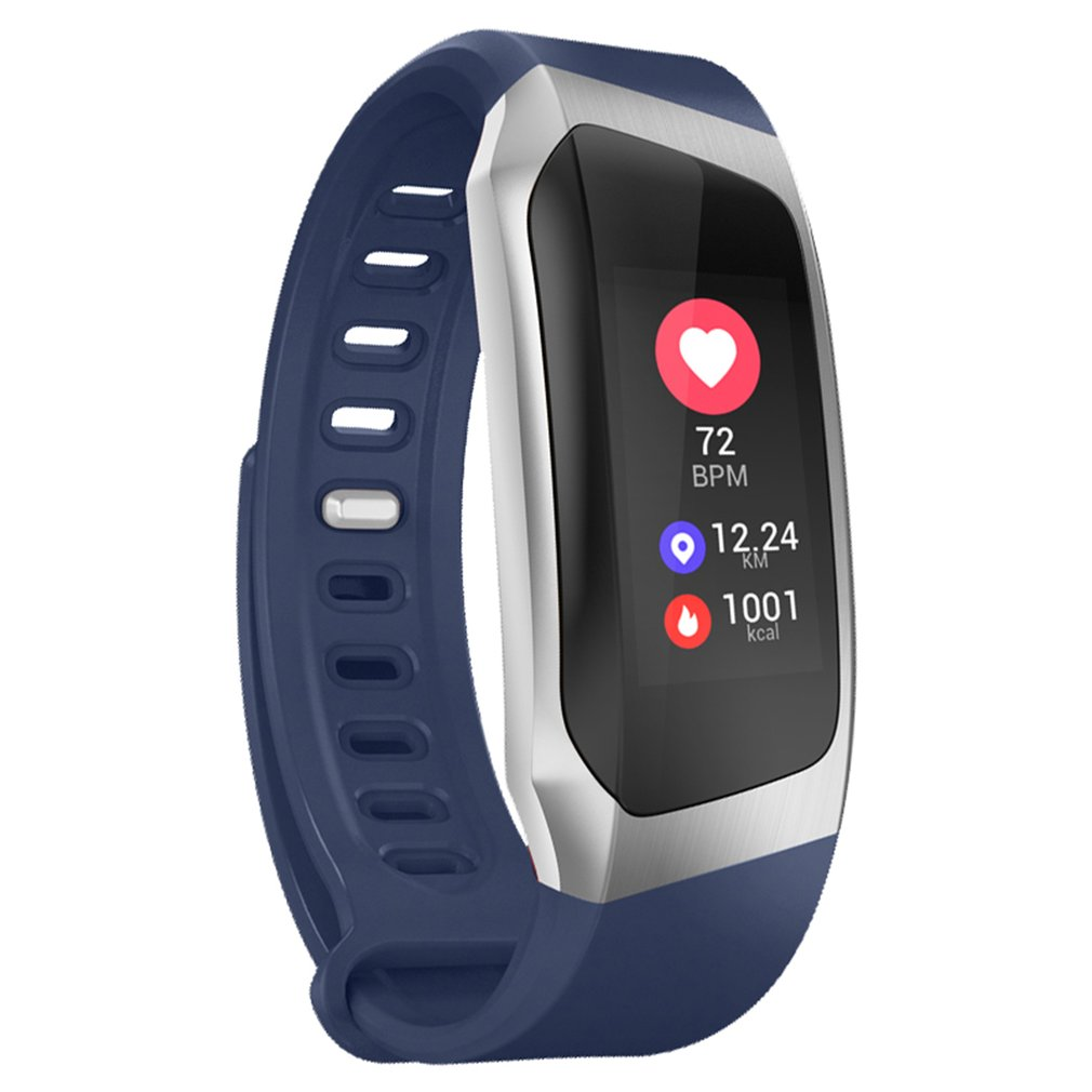 0.96 Inch Screen IP67 Smartband Blood Pressure Oxygen Heart Rate Monitor Band - image 5 de 10