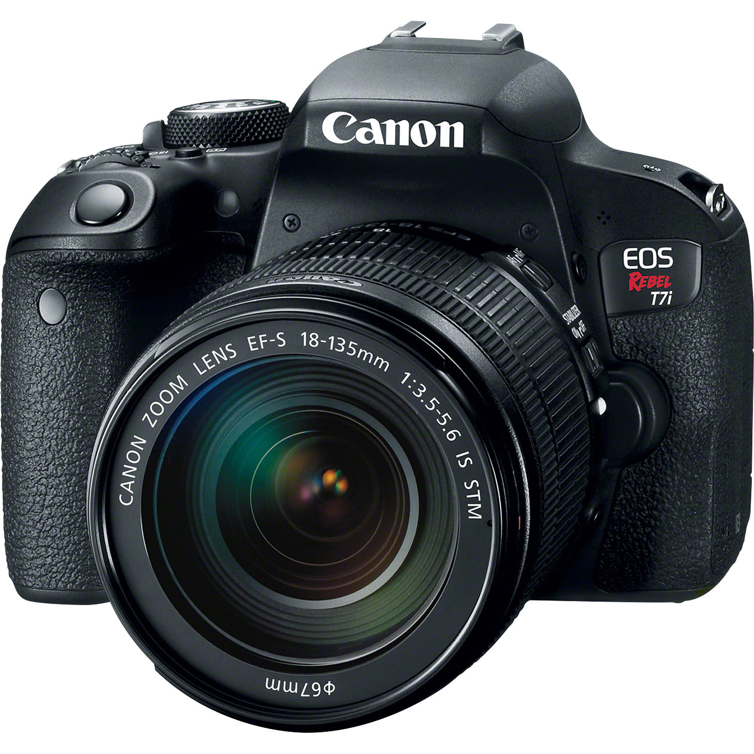 Canon EOS Rebel T7i DSLR Camera with 18-135mm Lens by Canon