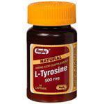 Rugby L-Tyrosine 500Mg Capsule Tyrosine-500 Mg White 50 Caps Upc (L-tyrosine 50 Capsules)