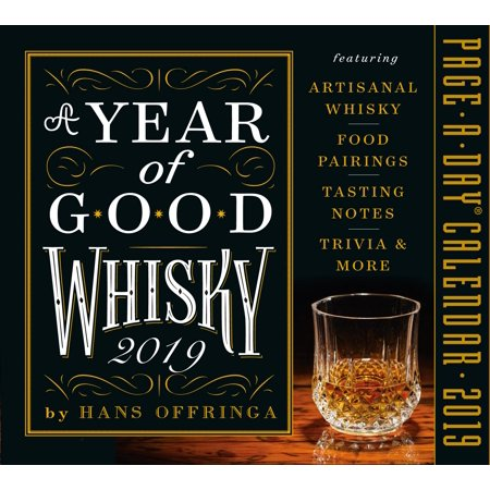 Year of Good Whisky Page-A-Day Calendar 2019