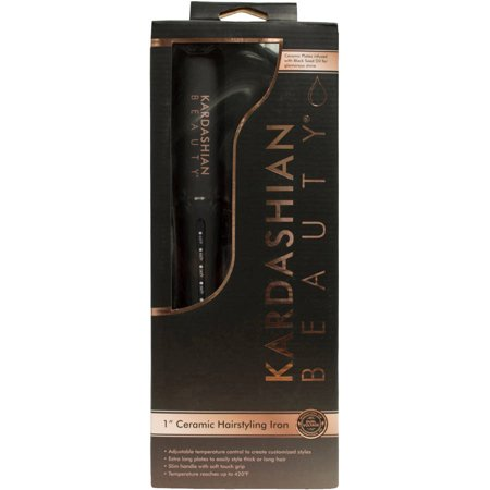 Kardashian Beauty 1u0022 Ceramic Hairstyling Iron, 1.0 CT