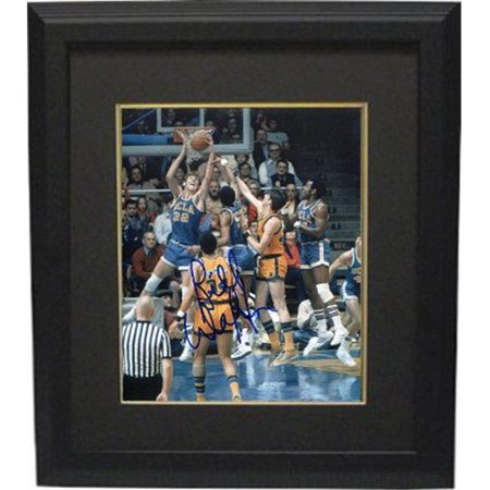 RDB Holdings & Consulting CTBL-BB20376 8 x 10 in. Bill Walton Signed UCLA Bruins Blue Jersey Dunk Vertical Photo Frame, Black & Black