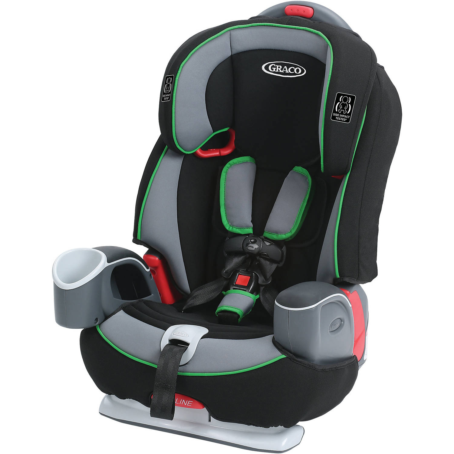 Graco Nautilus 65 3-in-1 Harness Booster Car Seat, Fern