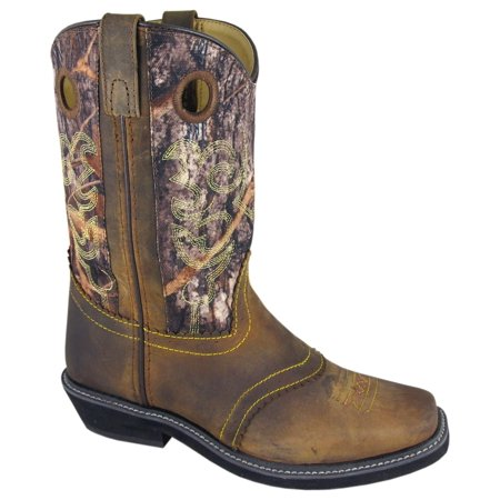 Smoky Mountain Women's Pawnee Camo Cowgirl Boot Square Toe - -