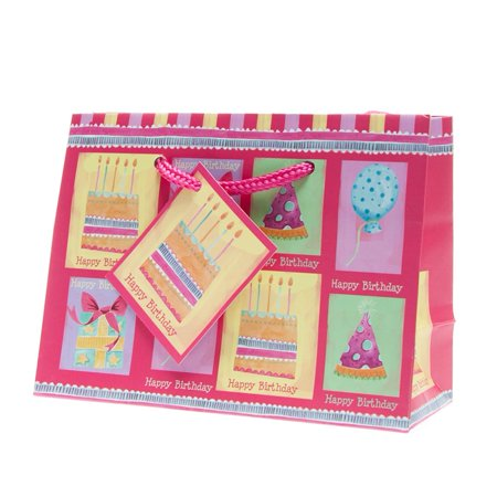 Small Happy Birthday Gift Bags Pkg12