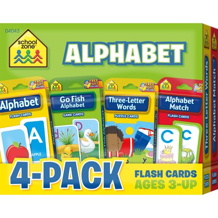 Atc Cards (Flash Cards 4-Pack-Preschool)
