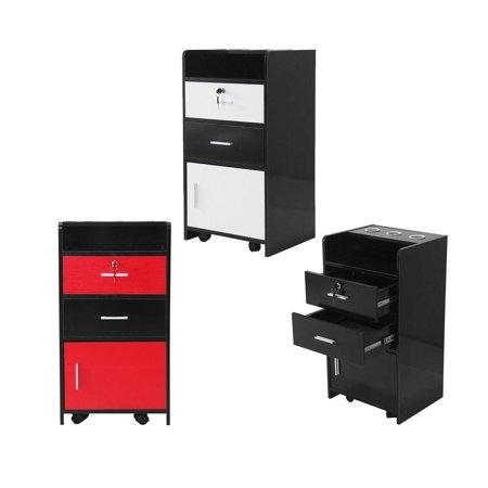 File Trolley (Ktaxon Salon Wood Rolling Drawer Cabinet Trolley Cart Tattoo Salon Station Equipment 3 Color)