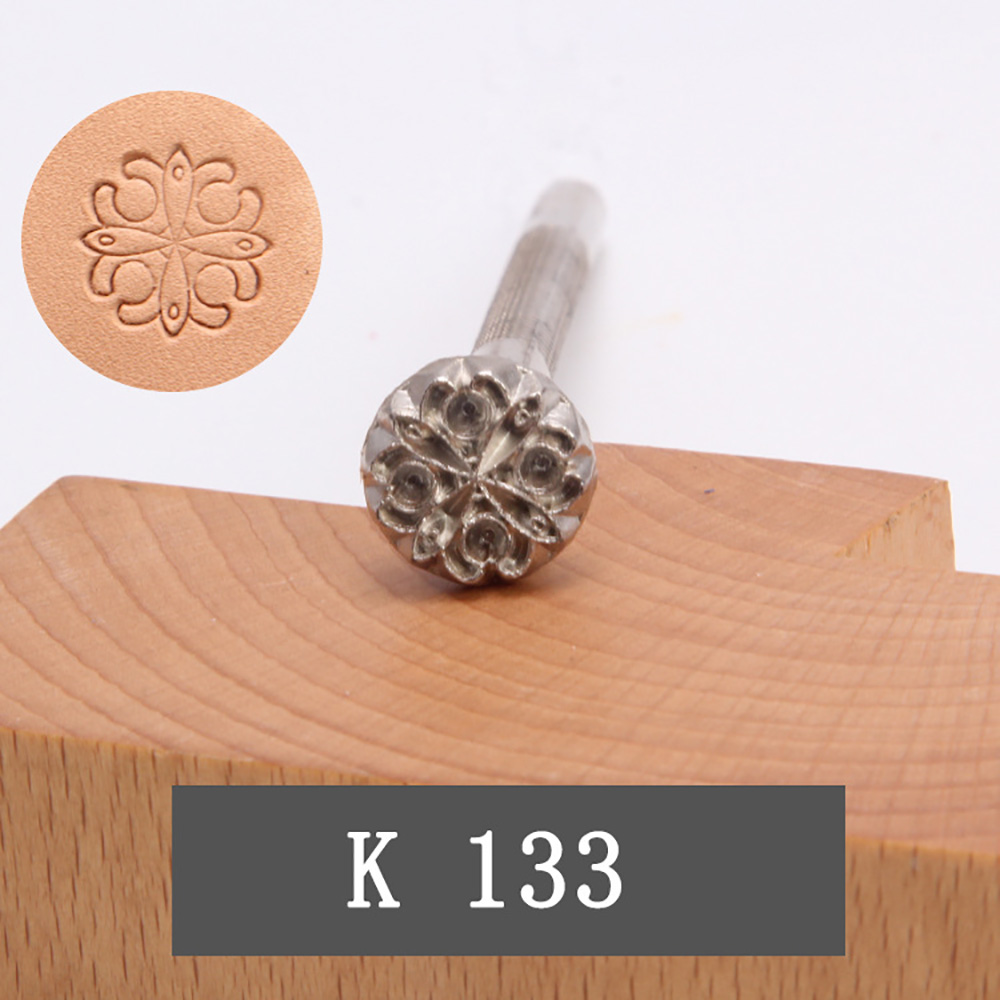DIY Stamp Tools Pattern Carving Leather Alloy High quality Metal Stamps