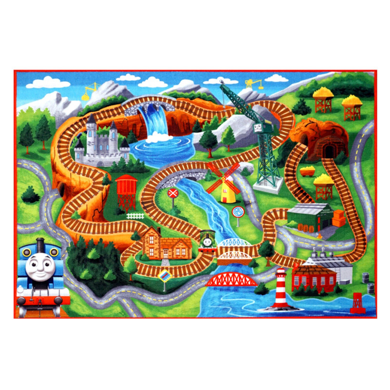 Thomas the Tank Engine HD Rug