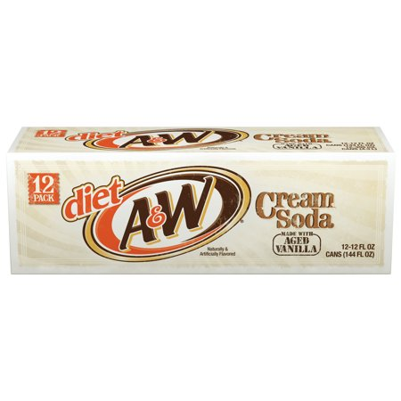 Diet A Diet Cream Soda  12 Fl Oz  12 Count