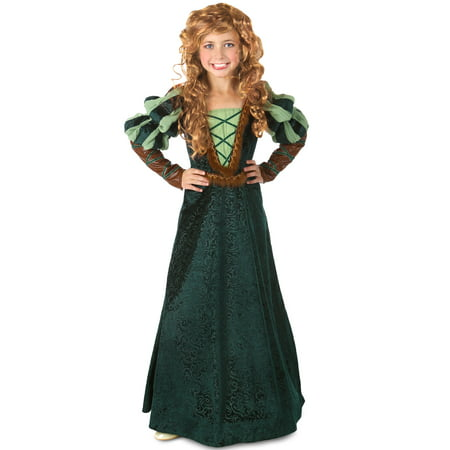 Princess Paradise Premium Forest Princess Child Costume - Brave Merida Dress