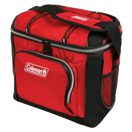 (Coleman 16-Can Soft Cooler with Removable Liner, Red)