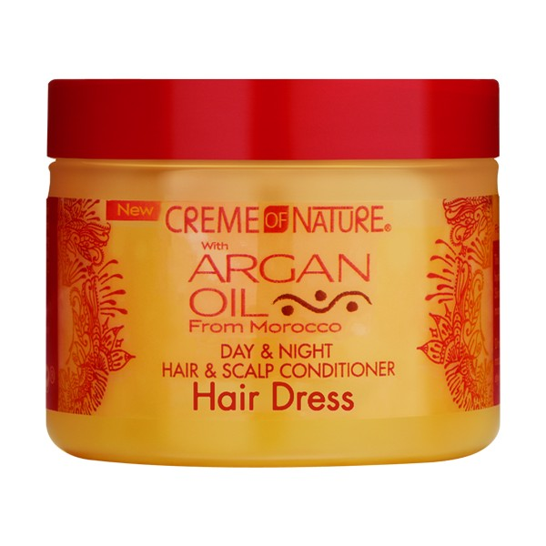 Creme Of Nature Argan Oil Day Night Hair Scalp Conditioner Hair Dress