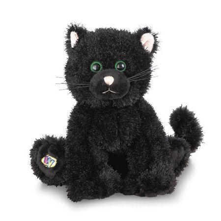 Webkinz Animal Halloween Black Cat Plush Toy With Sealed - Black Cats Halloween